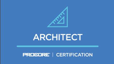 Procore Certification: Architect