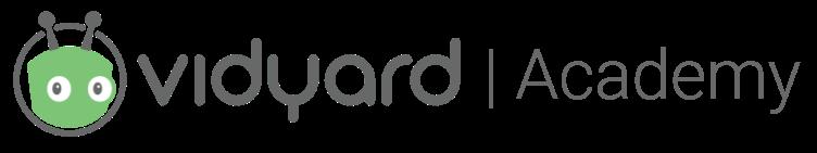 Vidyard Academy Logo