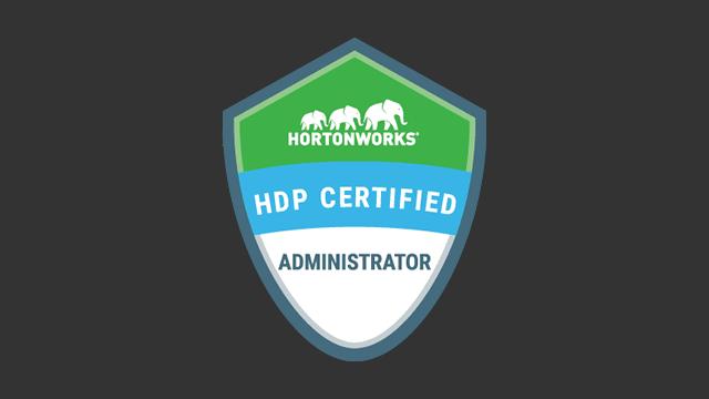 HDP Certified Administrator (HDPCA) Exam