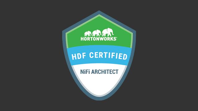 Hortonworks Data Flow Certified NiFi Architect (HDFCNA) Exam