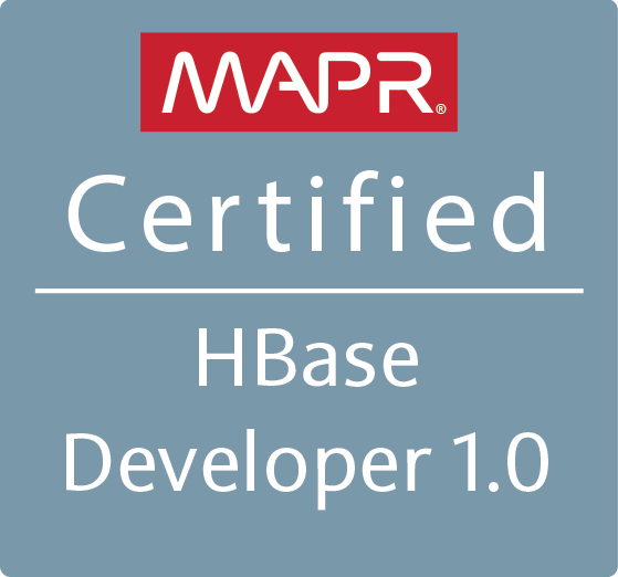 MapR Certified HBase Developer 1.0 (MCHBD)