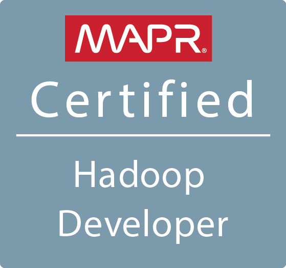 MCHD - MapR Certified Hadoop Developer