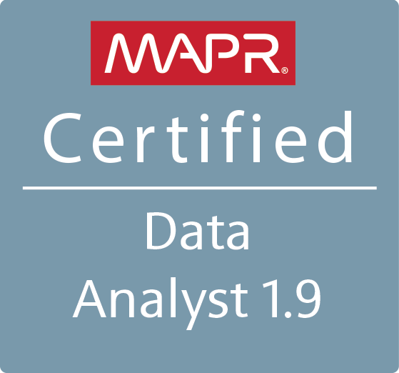 MapR Certified Data Analyst 1.9 (MCDA)