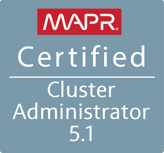MCCA - MapR Certified Cluster Administrator 5.1