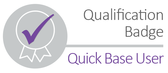 Qualification Badge - Quick Base User