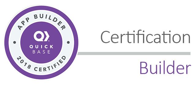 CB03: 2018 Certification - App Builder