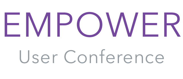 Explore all of the resources from past Empower User Conferences
