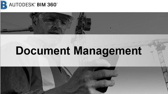 BIM 360 Document Management