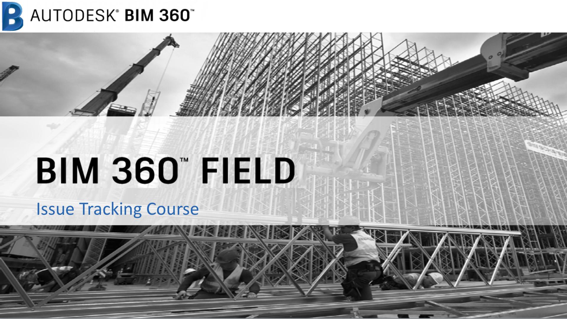 BIM 360 Field: Issue Tracking