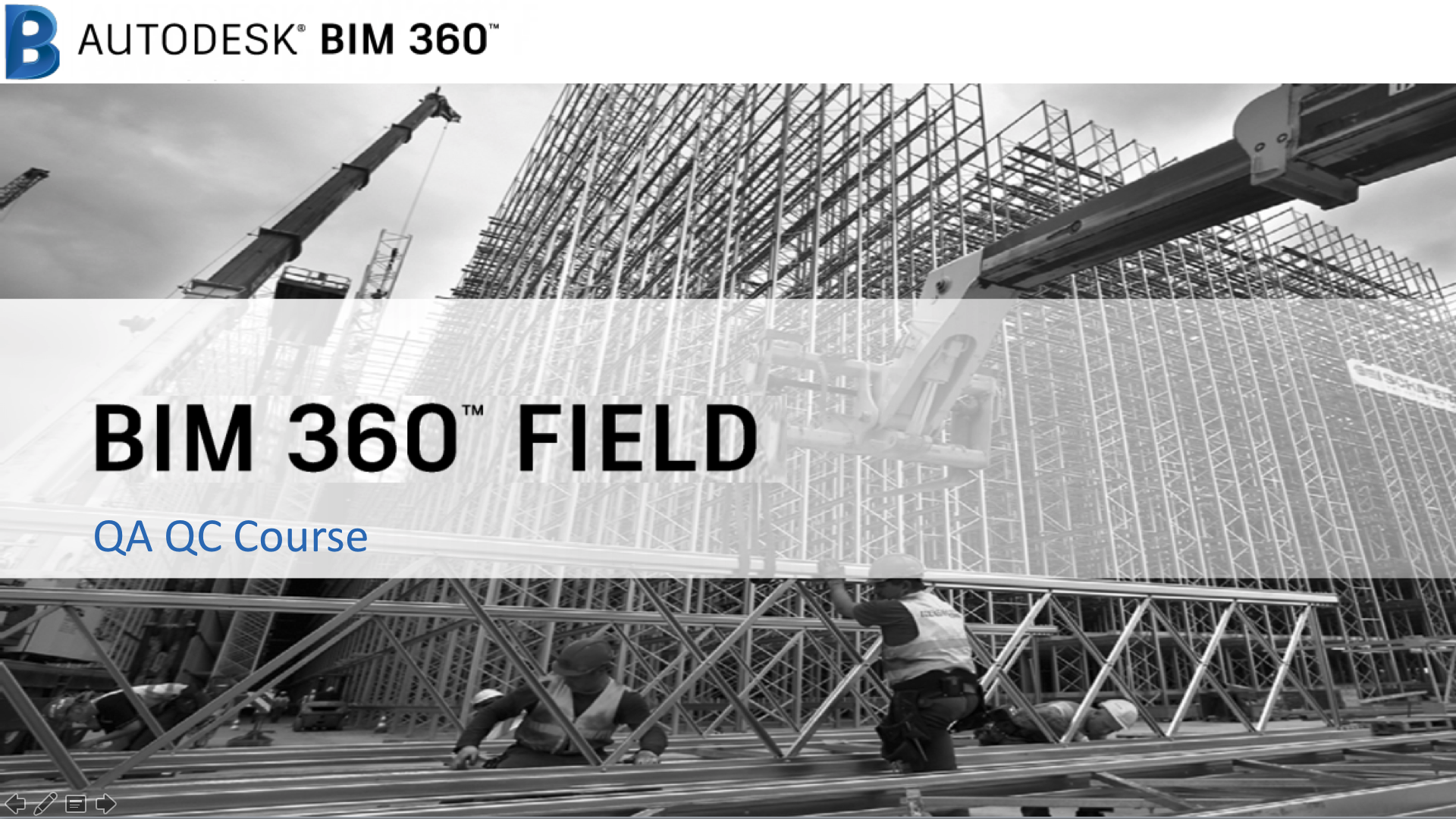 BIM 360 Field: QA/QC