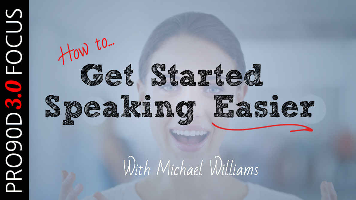 How to Stop Stuttering & Get Started Speaking EASIER with Michael Williams