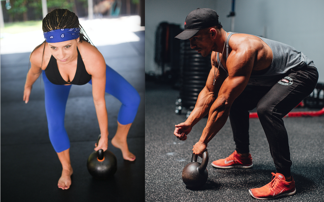 LIVE Kettlebell Cardio Classes