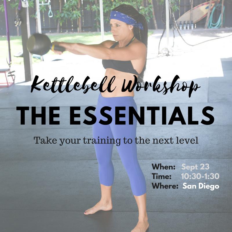 Mini Kettlebell Workshop - The Essentials