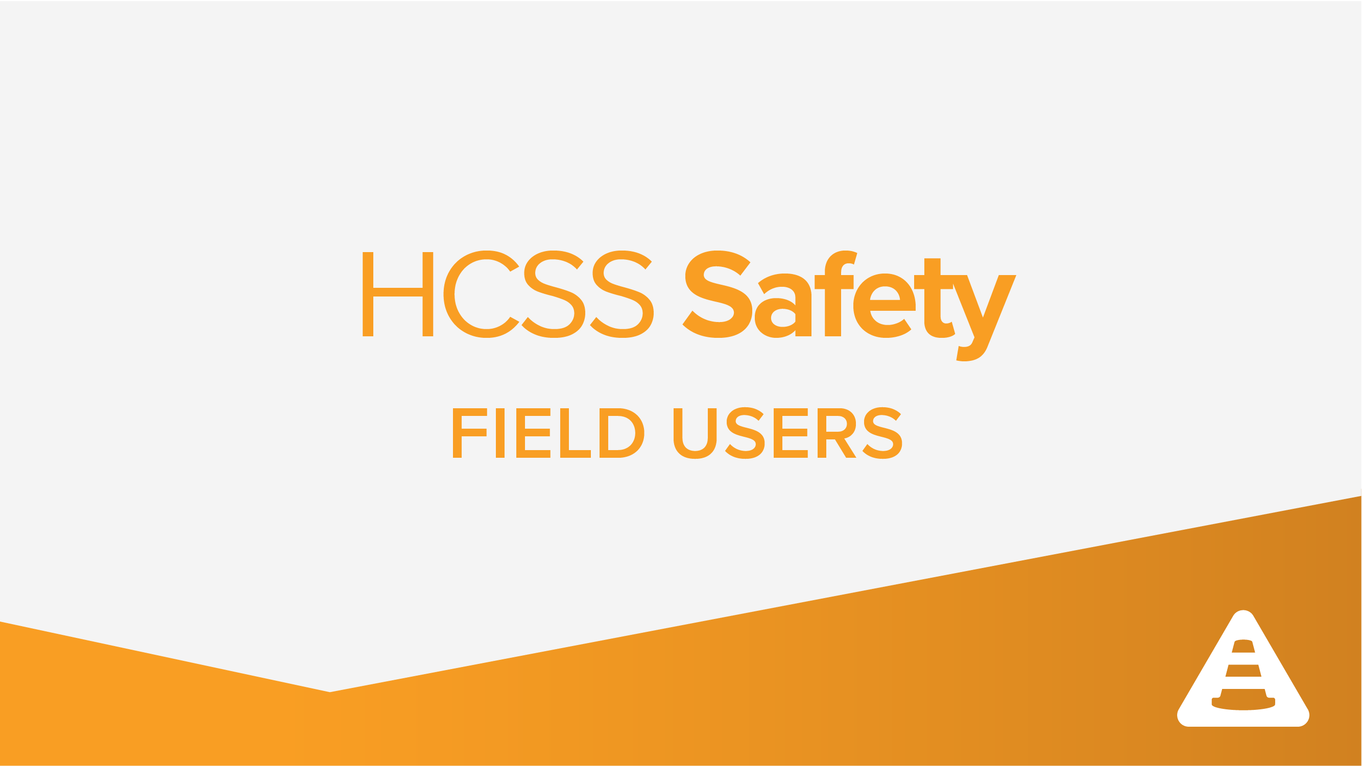 Safety Field 101: Capturing Safety Observations Electronically