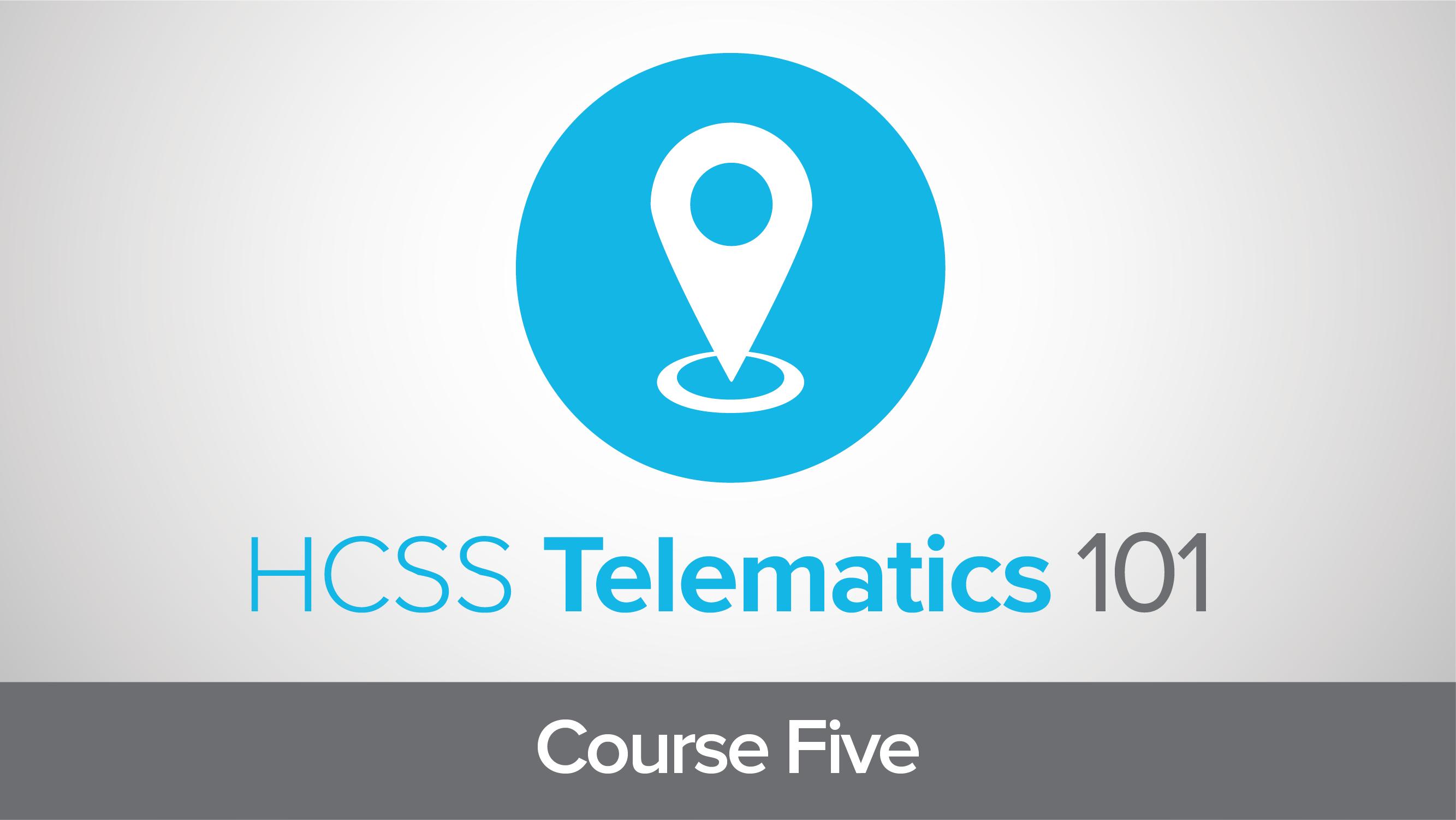 Telematics 101: Alerts