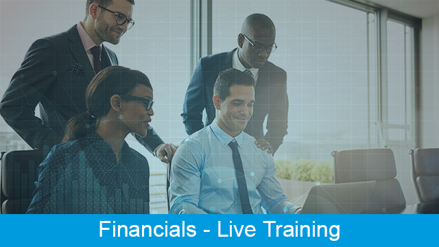 MRI Financials - Accounts Payable/General Ledger Bank Reconciliation Live Training