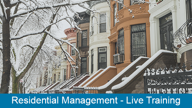 MRI Residential Management - Property Accounting Live Training