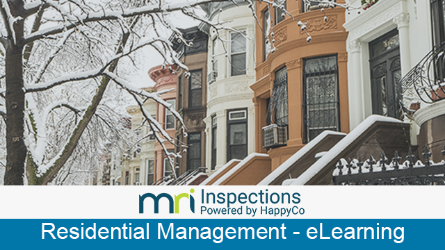 MRI Residential Management - MRI Inspections Powered by HappyCo Introductory eLearning Course
