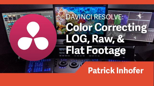 DaVinci Resolve: Color Correcting LOG, Raw, & Flat Footage