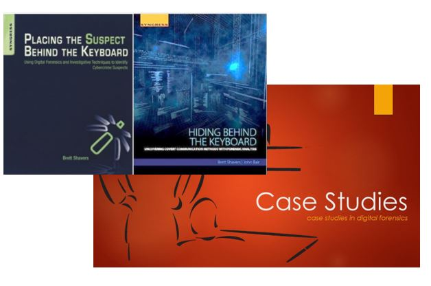 Case Study Series and Placing the Suspect Behind the Keyboard Training bundle